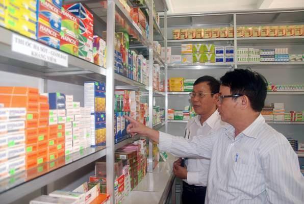 Quản lý kho hàng dược phẩm