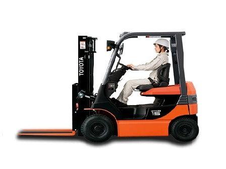 Xe nâng điện CORE Toyota thương hiệu Nhật Bản