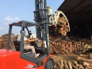 càng kẹp gỗ